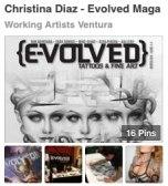 http://www.pinterest.com/WorkArtVentura/christina-diaz-evolved-magazine/