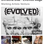 http://www.pinterest.com/WorkArtVentura/christina-diaz-evolved-magazine/