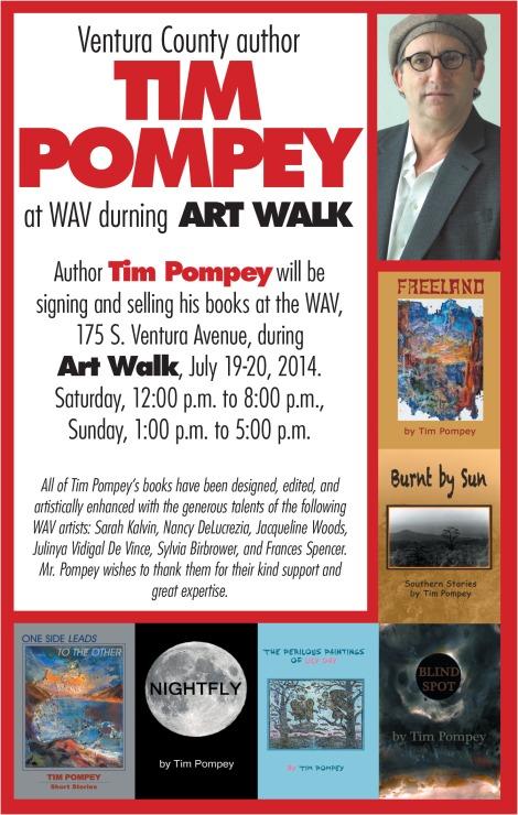 Tim Art Walk Ad 2014